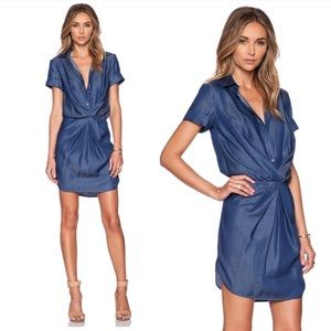 NEW Bailey 44 Chambray Low Rider Dress XS